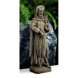 Saint Fiacre Irish Statue