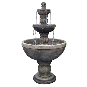 Water Fountain. Water Features, Outdoor Fountains