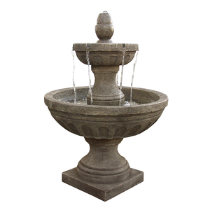 cement 2 tier water feature for sale