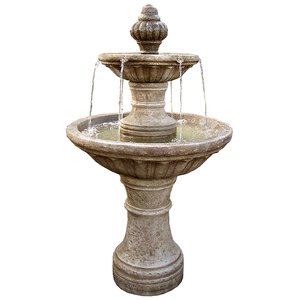 two tier outdoor fountains for sale