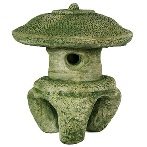 Beijing Chinese Temple Concrete Pagoda, 15 inches H x 13 inches W FREE SHIPPING