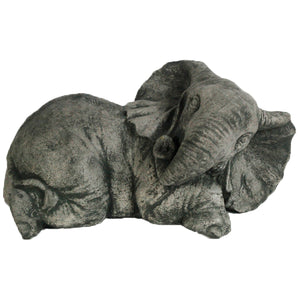 Elephant Statue Home and Garden decor, 14.5 Inches L x 7 Inches H x 7.5 Inches W, FREE SHIPPING