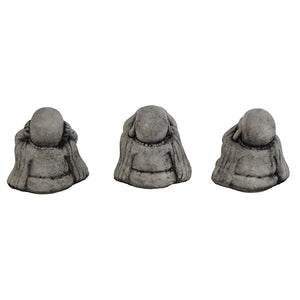 Three Wise Monks Small Set Garden Statues
