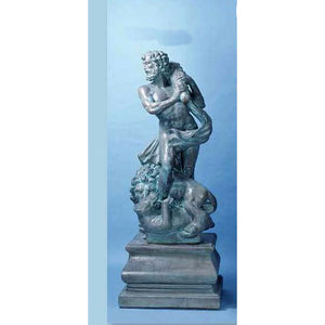 Hercules the son of Gods Garden Sculpture with Pedestal FREE SHIPPING