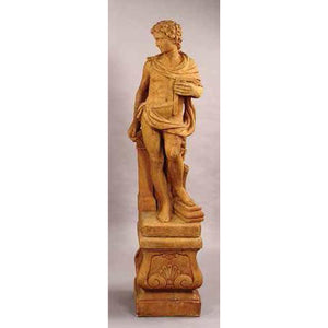 Muse of Architecture Garden Statue with Pedestal FREE SHIPPING