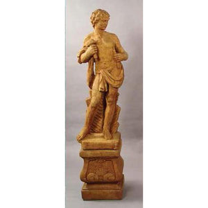Muse of Sculpture Garden Statue with Pedestal FREE SHIPPING