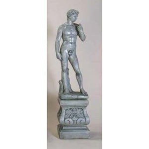 David Big Sculpture with Pedestal FREE SHIPPING