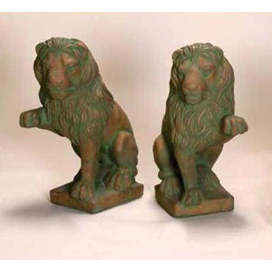 Italian guardian lion sculpture for sale for sale