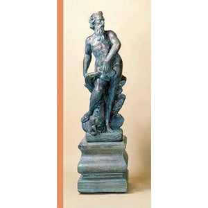 Neptune Big Garden Statue with Pedestal FREE SHIPPING