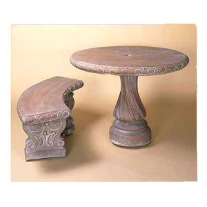 Cement Table Set