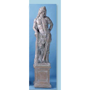 Ercole il Romano Garden European Sculpture with Pedestal FREE SHIPPING