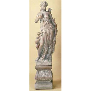 The Huntress Garden big Statue with Pedestal FREE SHIPPING