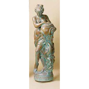Water Girl European Garden Sculpture Piped FREE SHIPPING