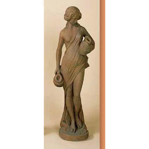 Water Maiden Concrete Garden Sculpture FREE SHIPPING