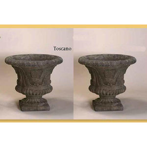 Leaf Urn Set of Two, FREE SHIPPING