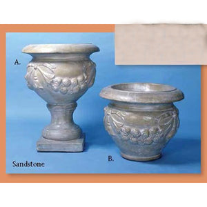Bagni Urn and Bagni Pot Set of Two, FREE SHIPPING