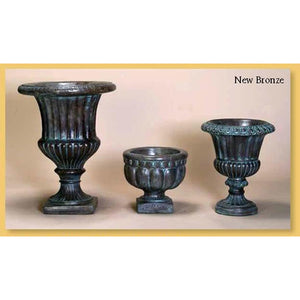 Fluted Urn Set of Three, FREE SHIPPING