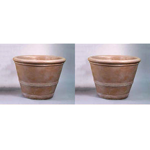 Three Ring Pot Set of Two, FREE SHIPPING