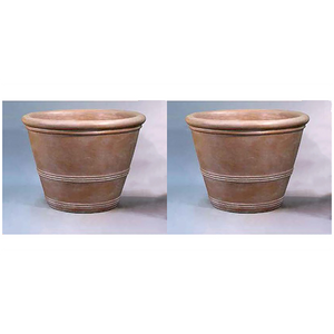 Large Three Ring Pot Set of Two, FREE SHIPPING