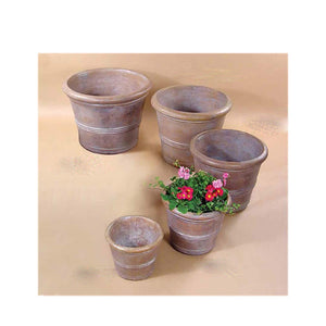 Three Ring Pot Set of Five