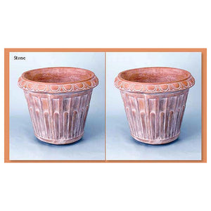 Big Architectural Planter Set of Two, FREE SHIPPING