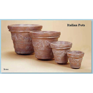 Italian Pots Set of Four, FREE SHIPPING