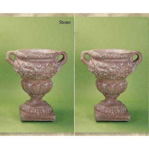 Flora Urn Set of Two, FREE SHIPPING