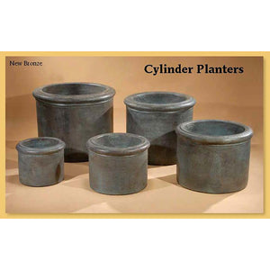 Cylinder Planters Set of Five, FREE SHIPPING