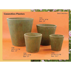 Generation Planters Set of Four, FREE SHIPPING