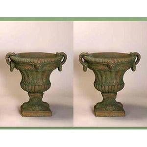 Victorian Urn Set of Two, FREE SHIPPING
