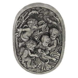 Angel Garden statues Wall plaques