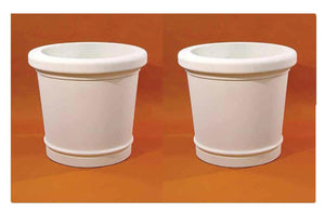 Large Avenue Planter Set of Two, FREE SHIPPING