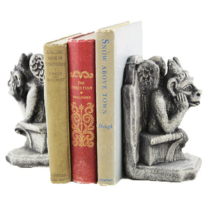 Gargoyles Statues Bookends