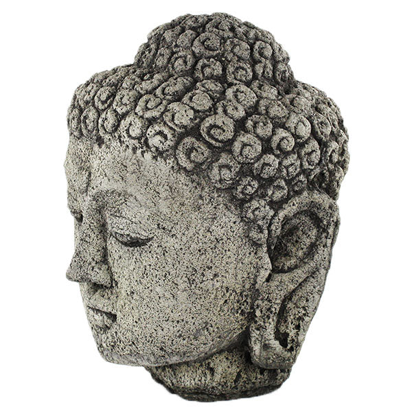 Large Buddha Head Fountain: Big Buddha Head/Home And Garden Cement Statues