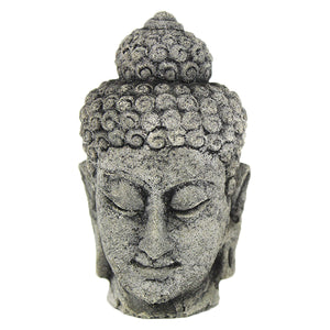 Small Buddha Head Statue, 4.5 inches H x 2.5 inches W FREE SHIPPING