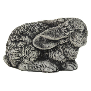 Sleeping Bunny Concrete Garden Rabbit yard decor