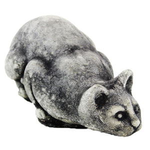 Crouching Cat Statue - Garden statuary in USA
