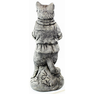 Cat With Banjo Statue, 23.5 inches H x 9 inches W,  FREE SHIPPING