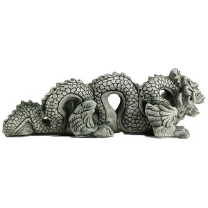 Dragon Cement Statues