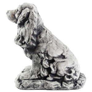 Cocker Spaniel Dog Statue