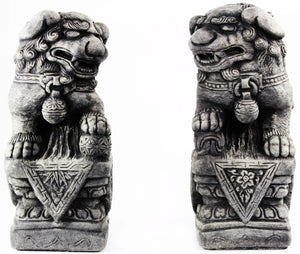 Foo Dogs Cement Statues