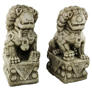 Chinese Foo Dogs Statues
