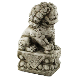 Cement Foo Dog Statues