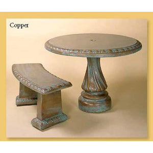Cement Table Set for Yard