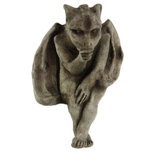 Sitting Gargoyle Statue, 7.5 inches H x 5 inches W, FREE SHIPPING