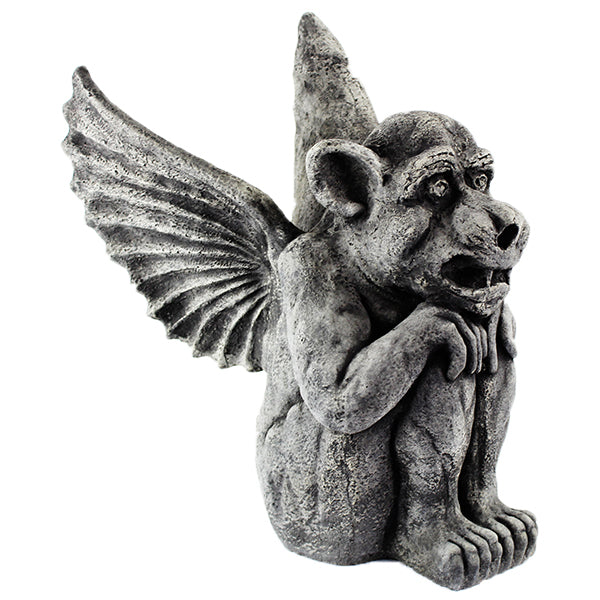 Winged Dog Gothic Gargoyles Concrete Home And Garden