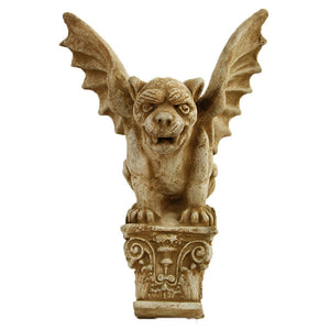 Gargoyle Hanging Wall Plaque, 13 inches H x 10 inches W