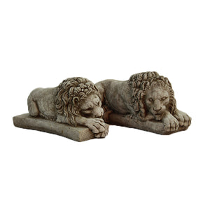 European Lion Sculpture