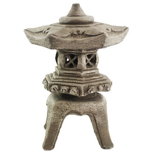 Van Son Garden Pagoda, 15 inches H x 10 inches W x 7.5 inches BaseFREE SHIPPING