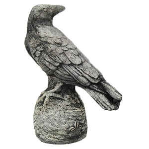 French Raven Statues